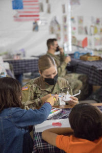 Arts and Crafts with Afghan Children